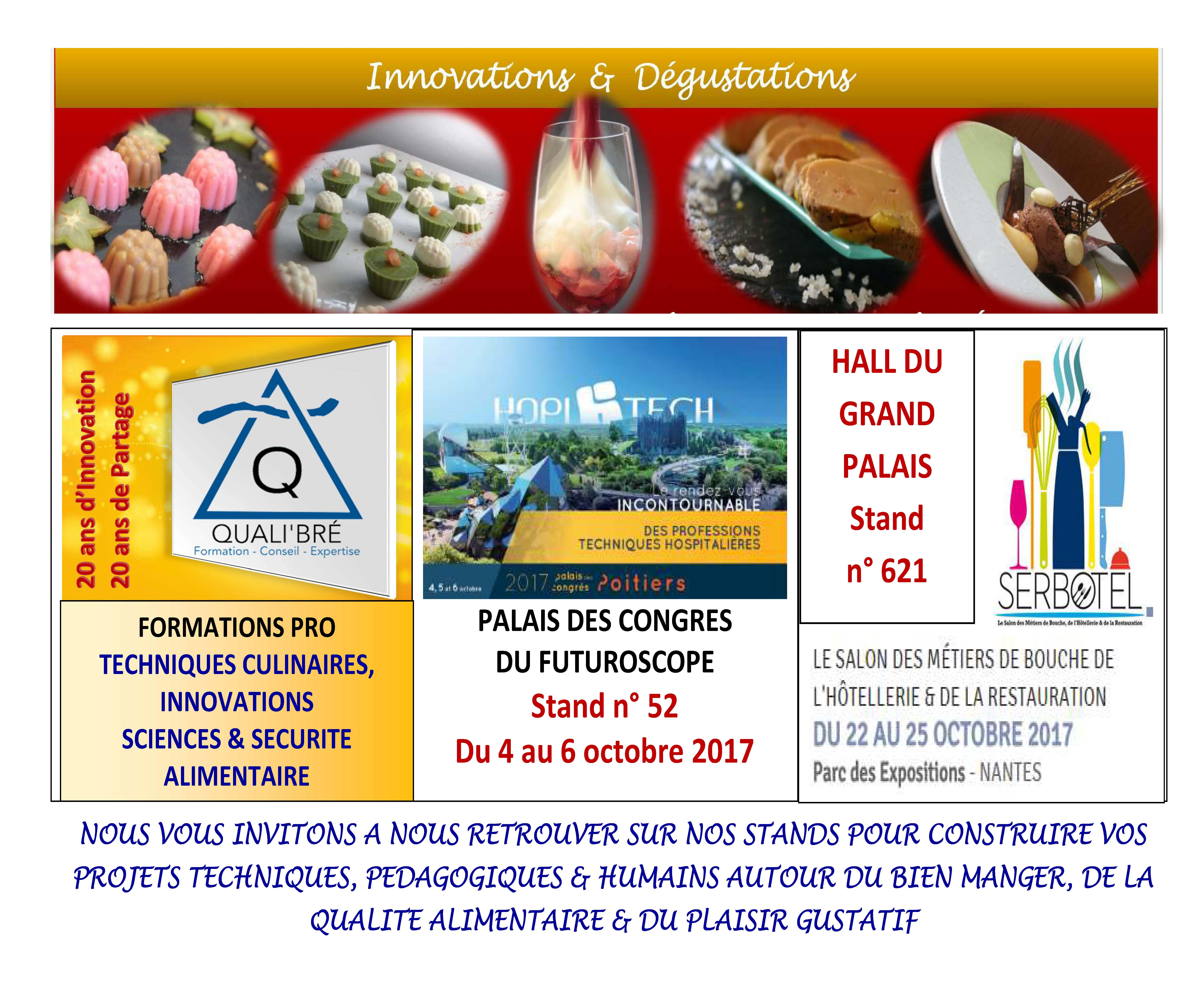 Qualibre formation culinaire